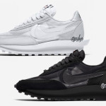 "【2020年】Sacai x Nike LDWaffle ""Triple Black"" and ""Triple White"""