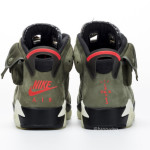 """【最新画像】Travis Scott x Air Jordan 6 """"Medium Olive""""【トラヴィス スコット x エア ジョーダン 6】"""