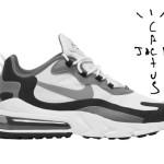【リーク】Travis Scott x Nike Air Max 270 React【トラヴィス スコット x ナイキ】