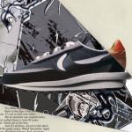 【9/12】sacai x Nike LDWaffle ブラック【サカイ x ナイキ LDワッフル】