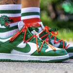 "【10月発売】Off-White x Nike Dunk Low ""Pine Green""【オフホワイト x ナイキ】"