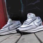 """【着用画像】Sacai x Nike LDV Waffle """"Wolf Grey""""【サカイ x ナイキ 】"""