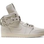 """【公式写真】Comme des Garçons x Air Jordan 1 """"White""""【コムデギャルソン x エアジョーダン1】"""