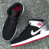 【発売開始】 Air Jordan 1 Mid Black/Gym Red