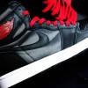 """【リーク】Air Jordan 1 """"Black Satin""""【エア ジョーダン 1 ブラック サテン】"""