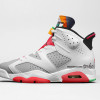 "【2020春】Air Jordan 6 ""Hare"" White/Light Silver-True Red"