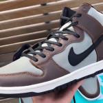 """【10月発売】Nike SB Dunk High Pro """"Baroque Brown""""【ナイキ SB ダンク】"""