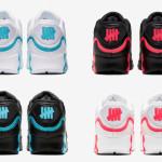 【9月20日発売】Undefeated x Nike Air Max 90 Collection【アンディフィーテッド x ナイキ エアマックス90】