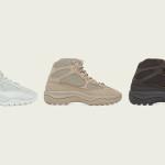 【9月14日発売】adidas Yeezy Desert Boot 全3カラー