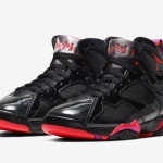 "【10月31日発売】Air Jordan 7 WMNS ""Black Patent Leather""  313358-006"