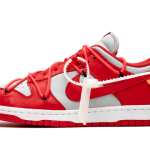"""【詳細画像】Off-White x Nike Dunk Low """"University Red""""【オフホワイト x ナイキ ダンク】"""