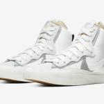 """【10月8日】Sacai x Nike Blazer Mid """"Wolf Grey"""" BV0072-100"""