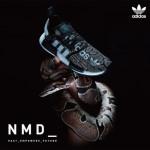 "【10月5日】 atmos x adidas NMD R1 ""G-SNK""EH2204"