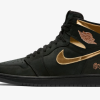 "【2020年発売】Air Jordan 1 High ""Black/Metallic Gold""【エア ジョーダン 1】"
