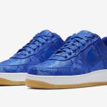 """【11月11日発売】Clot x Nike Air Force 1 in """"Blue""""【クロット x ナイキ】"""