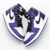 "【詳細画像】Air Jordan 1 High OG ""Court Purple"" 555088-500"