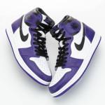 "【詳細画像】Air Jordan 1 High OG ""Court Purple"" 555088-500"