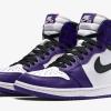 """【来年4月4日発売】Air Jordan 1 High OG """"Court Purple""""【エア ジョーダン 1】"""