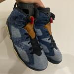 """【12月28日発売】Air Jordan 6 """"Washed Denim""""【エア ジョーダン 6 デニム】"""