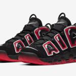 """【12月19日発売】Nike Air More Uptempo """"Laser Crimson""""【ナイキ エア モア アップテンポ】"""