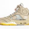 """【リーク】Off-White x Air Jordan 5 """"Cream""""【オフホワイト x エアジョーダン5】"""