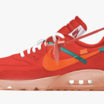"【夏に発売!?】Off-White x Nike Air Max 90 ""University Red""【オフホワイト x ナイキ】"