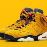 """【2020年発売】Travis Scott x Air Jordan 6 """"Yellow""""【トラヴィス・スコット x エアジョーダン6 イエロー】"""