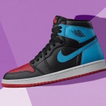 "【2月14日】Air Jordan 1 High OG WMNS ""UNC To Chicago"" CD0461-046"