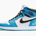 """【2021年発売】Air Jordan 1 High OG """"University Blue""""【エアジョーダン1 ハイ】"""