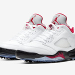 "【2月28日】Air Jordan 5 Low Golf ""Fire Red"" CU4523-100【ジョーダン5】"