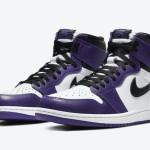 """【4月18日発売】Air Jordan 1 High OG """"Court Purple""""【エアジョーダン1 コートパープル】"""