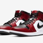 【6月3日発売】Air Jordan 1 Mid Chicago Black Toe 554724-069