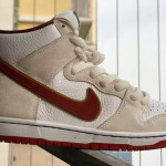 """【6月発売】Nike SB Dunk High """"Sail/Team Crimson""""【ナイキ SB ダンク ハイ】"""