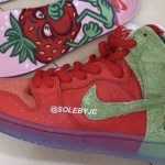 """【4月発売予定】Nike SB Dunk High """"Strawberry Cough""""【ナイキ SB ダンク ハイ】"""