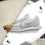"""【3月25日オフィシャルリリース】sacai x Nike LDWaffle """"Nylon"""" BV0073-002, BV0073-101"""