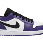 "【近日発売】Air Jordan 1 Low ""Court Purple"" 553558-500"