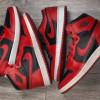 """【比較画像】Air Jordan 1 Low """"Varsity Red""""【エア ジョーダン 1 ロー】"""