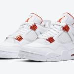 "【5月5日発売】Air Jordan 4 ""Orange Metallic""  CT8527-118"