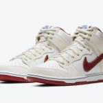 """【6月発売】Nike SB Dunk High """"Team Crimson""""【ナイキ SB ダンク ハイ】"""