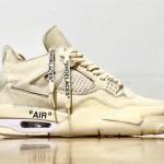 """【2020年夏に発売】Off-White x Air Jordan 4 """"Sail""""【オフホワイト x エアジョーダン4 セイル】"""
