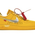 "【2021年発売!?】Off-White x Nike Air Force 1 ""University Gold""【オフホワイト x ナイキ】"