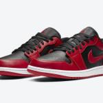 """【公式写真】Air Jordan 1 Low """"Varsity Red""""【エアジョーダン1ロー バーシティレッド】"""