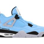 """【リーク】Air Jordan 4 """"University Blue""""【エアジョーダン4 ユニバーシティブルー】"""