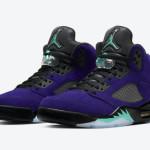 """【7月7日発売】Air Jordan 5 """"Alternate Grape""""【エアジョーダン5 オルタネイトグレープ】"""
