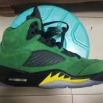 """【9月12日発売】Air Jordan 5 SE """"Oregon Ducks""""【エアジョーダン5 オレゴンダックス】"""