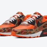 """【6月16日】 Nike Air Max 90 """"Orange Camo"""" CW4039-800"""