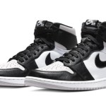 【リーク】Air Jordan 1 High OG Black White Light Smoke Grey