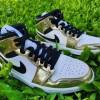 """【カミングスーン】Air Jordan 1 Mid """"Metallic Gold""""【エアジョーダン1ミッド】"""