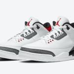 """【公式写真】Air Jordan 3 SE-T """"Fire Red""""【エアジョーダン3 日本限定】"""