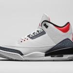 """【秋に発売予定】Air Jordan 3 SE Denim """"Fire Red""""【エアジョーダン3 SE デニム】"""